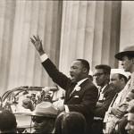 """Momento del discurso """"I have a dream""""."""