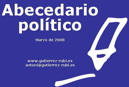 Abecedario político