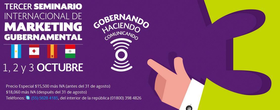 Seminario Internacional Marketing Gubernamental